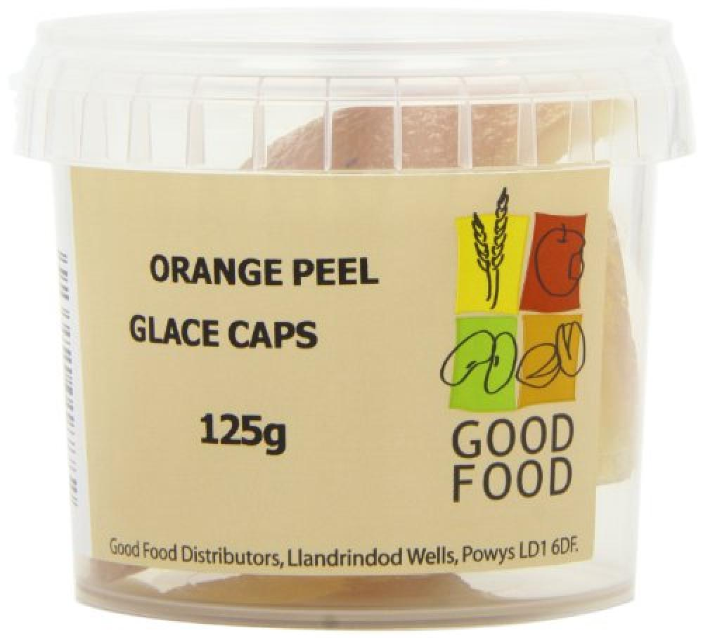 Good Food Mintons Good Food Pre-Packed Orange Peel Caps Glace 125 g