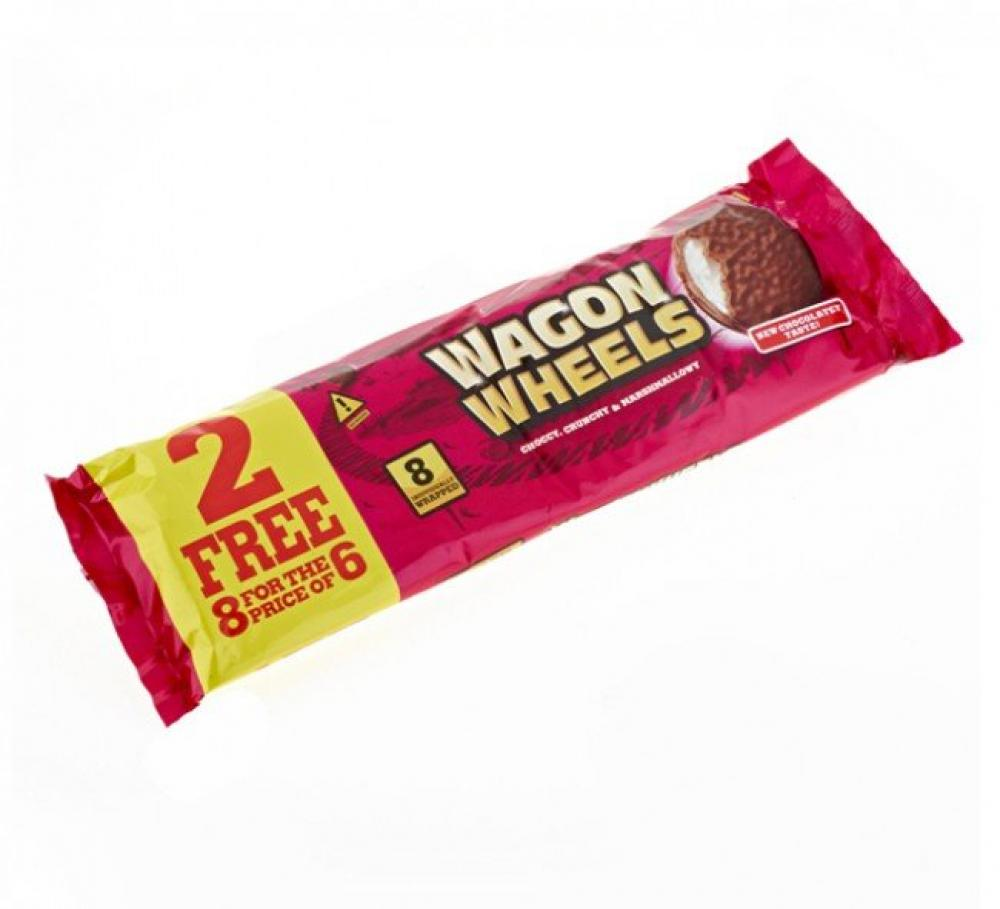Wagon Wheels Original 8 Pack