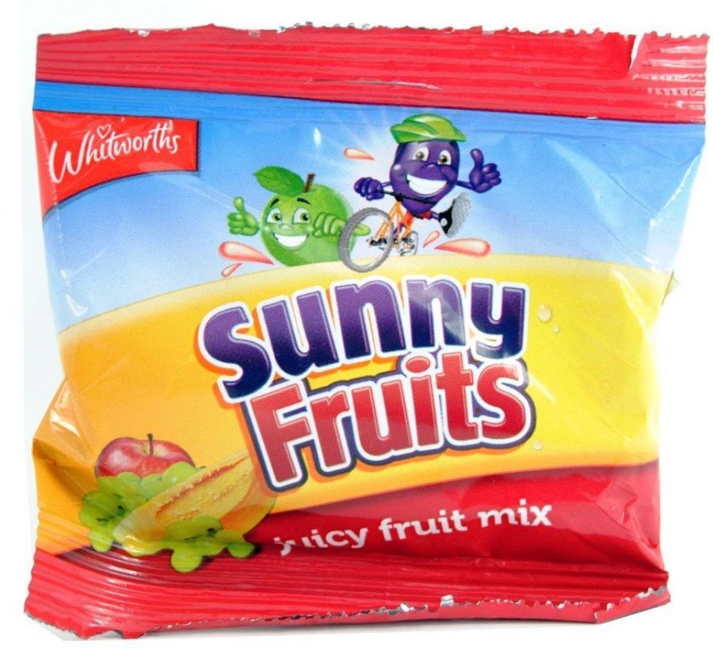 Whitworths Sunny Fruits Juicy Fruit Mix 25g