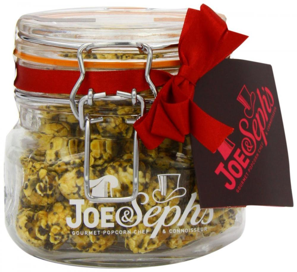 Joe and Sephs Lemon and Poppy Seeds Popcorn 80g