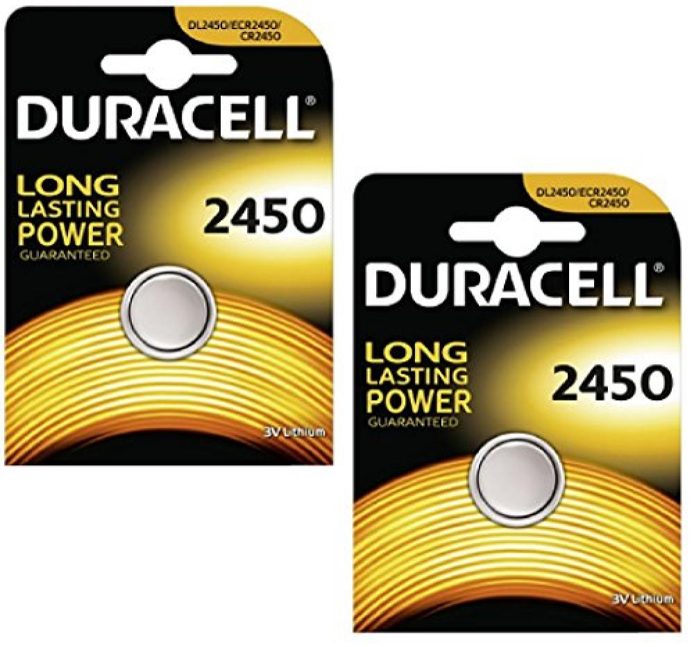 Duracell CR2450 Lithium Coin Cell Battery 3v
