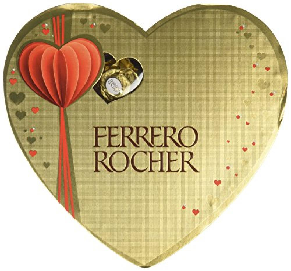 Ferrero Rocher Heart Box 10 Pieces 125g
