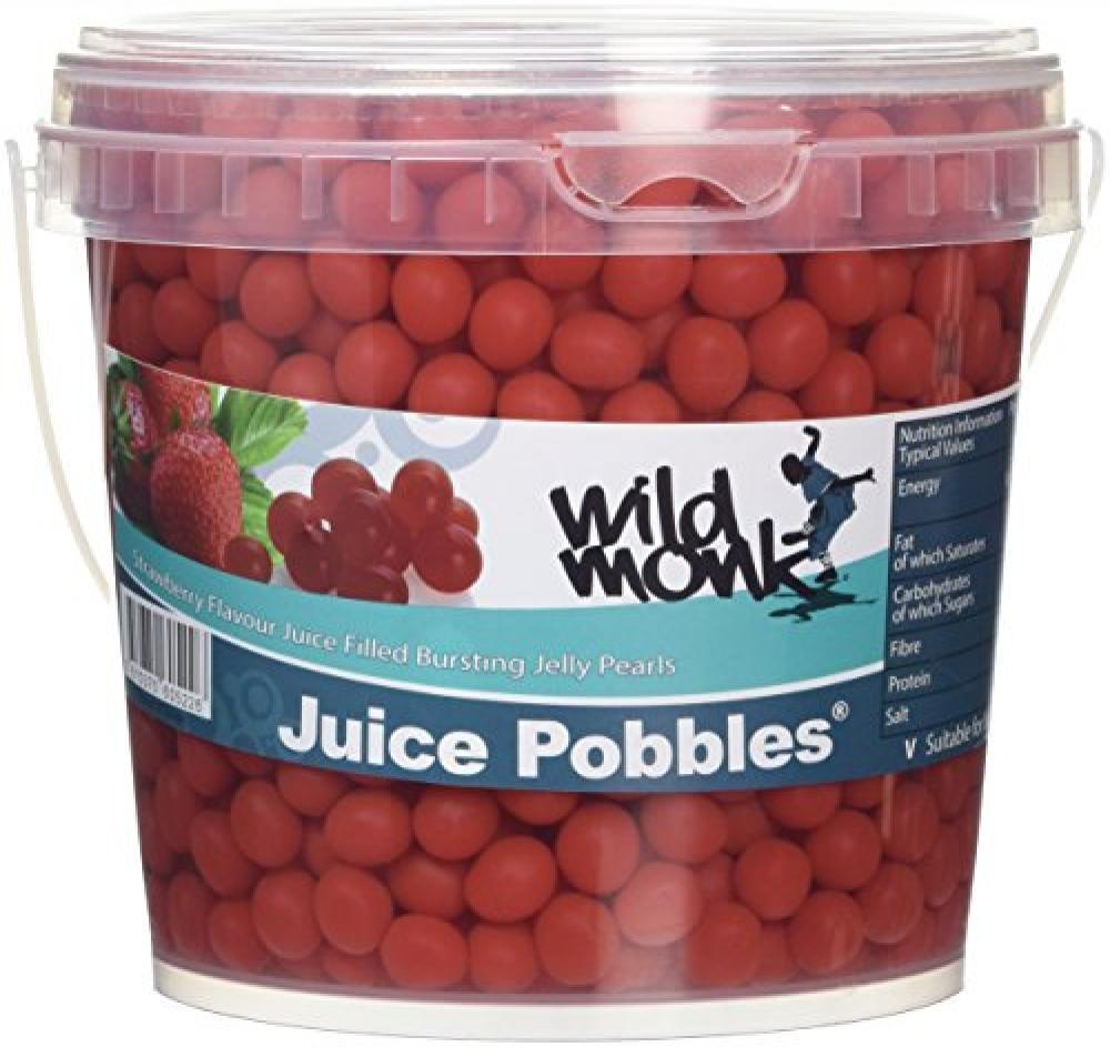 Wild Monk Strawberry Juice Pobbles Tub 1.2kg