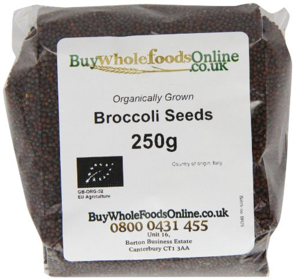 Buy Whole Foods Organic Broccoli Seeds 250 g