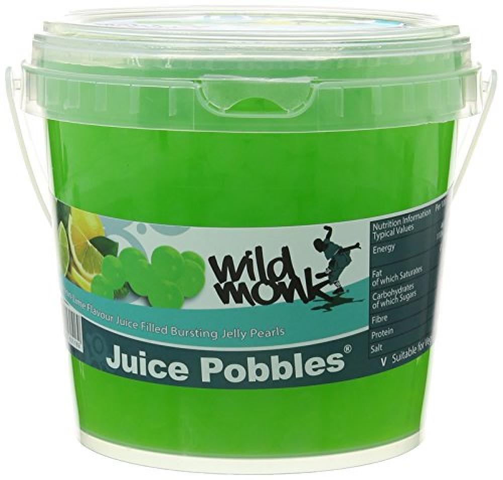 Wild Monk Lemon and Lime Juice Pobbles Tub 1.2 kg