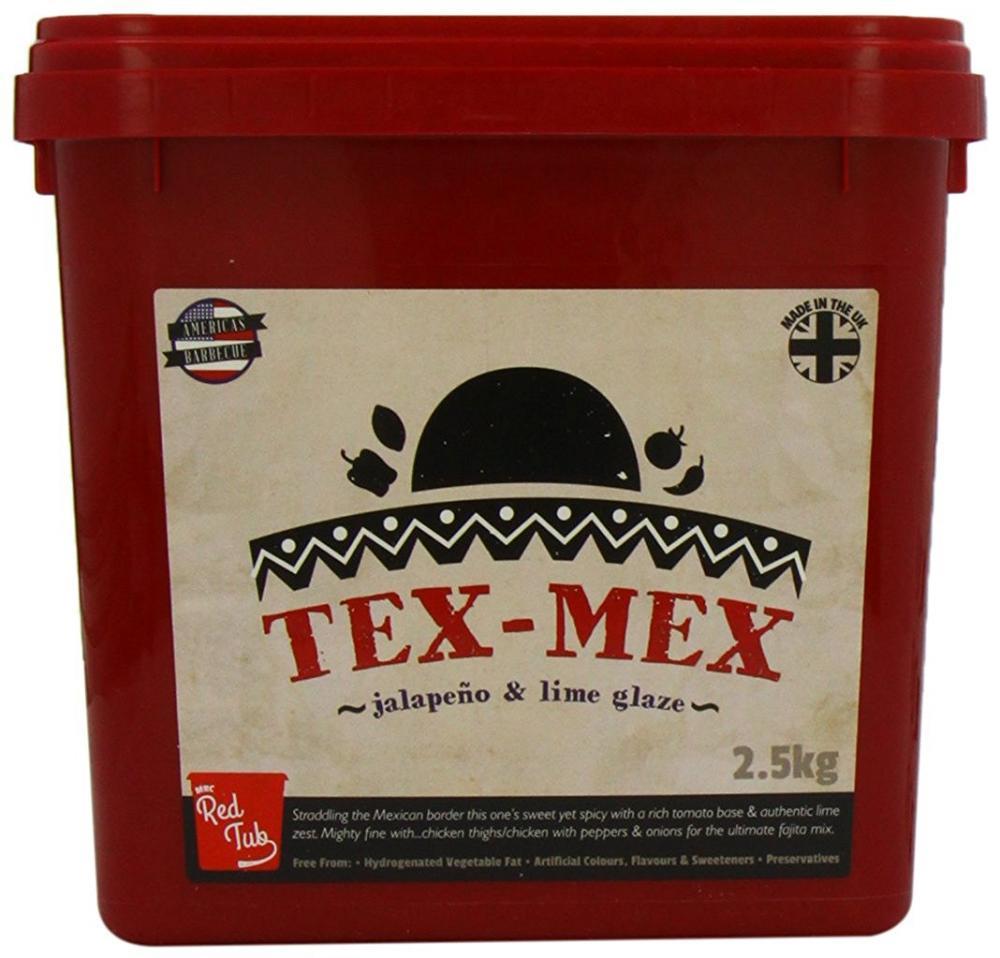 MRC Red Tub Tex Mex Jalapeno and Lime Red Tub 2.5 kg