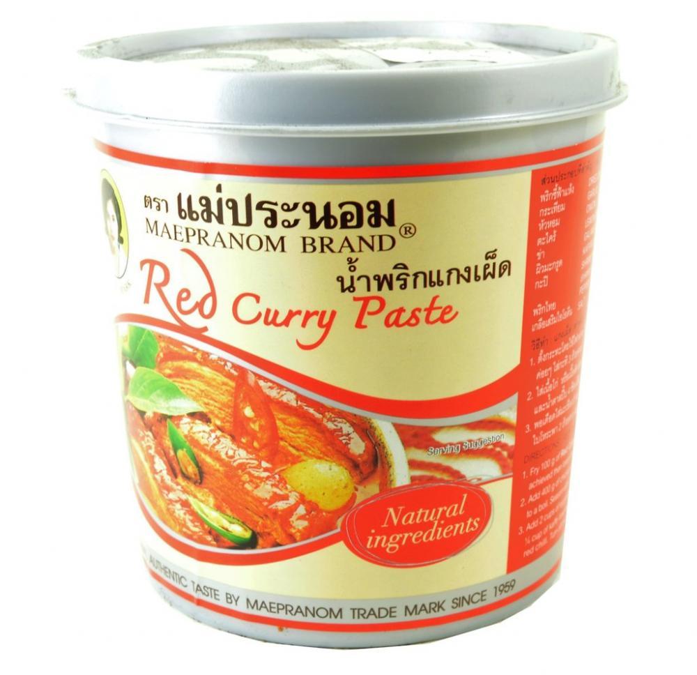 Maepranom Brand Red Curry Paste 1kg