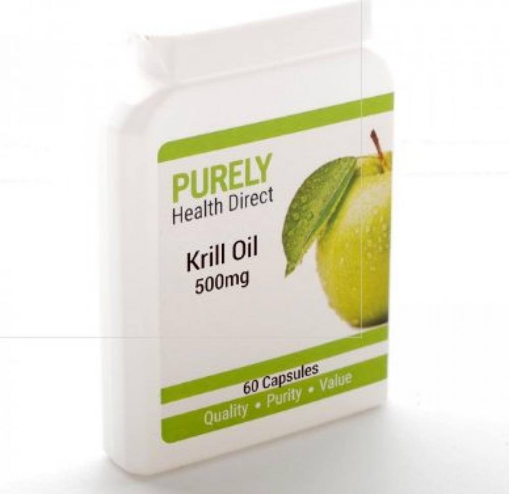 Purely Platinum Krill Oil 500mg 60 Capsules