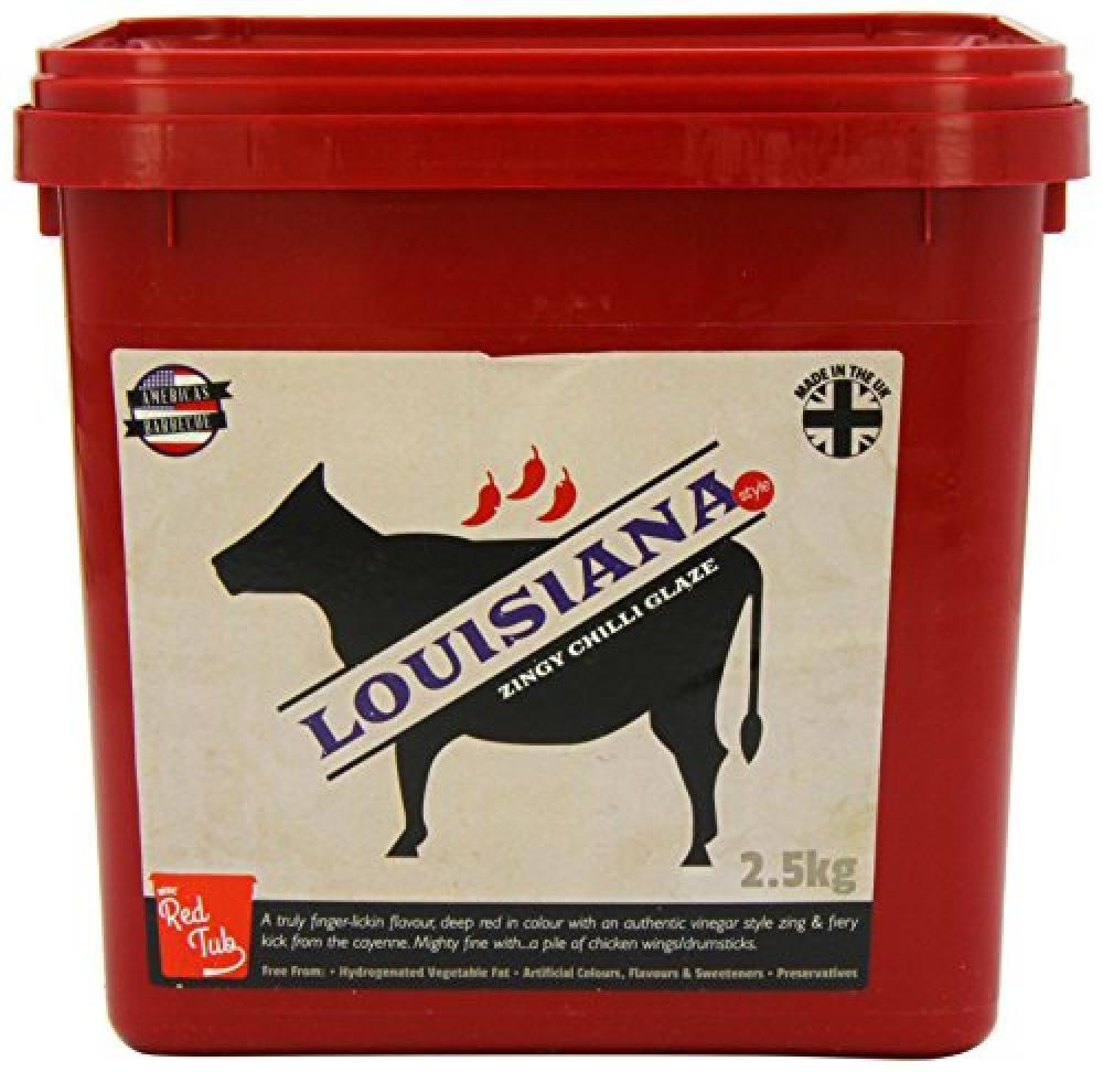 MRC Red Tub Louisiana Style Zingy Chilli Red Tub 2500g