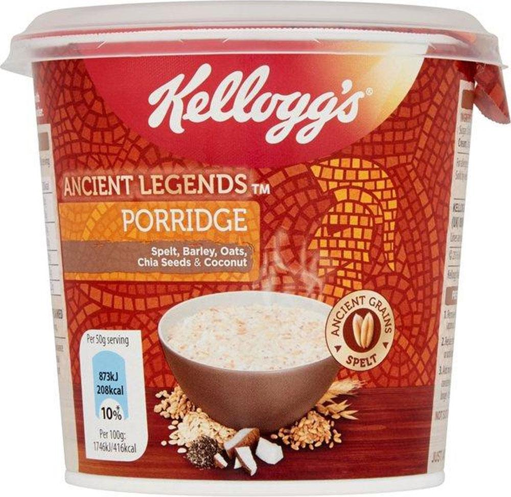 Kelloggs Ancient Legends Porridge with Coconut 50g