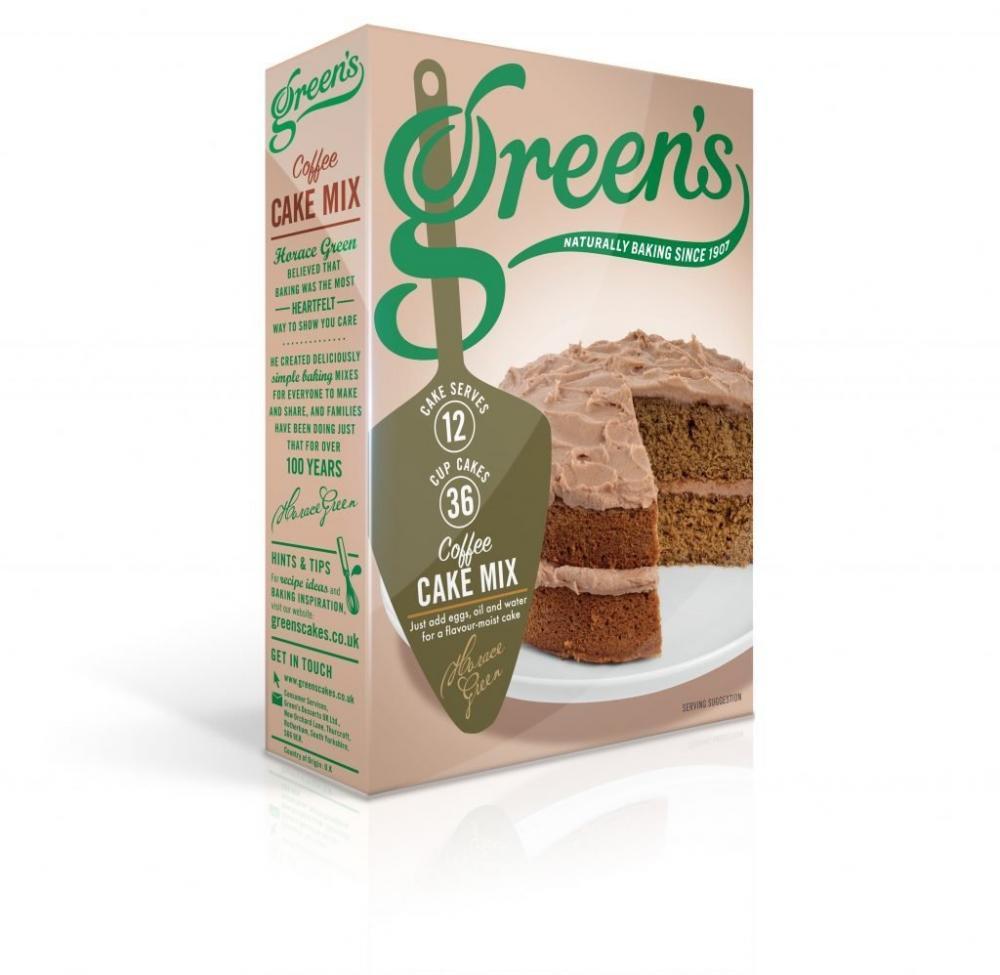 Greens Coffee Cake Mix 500g