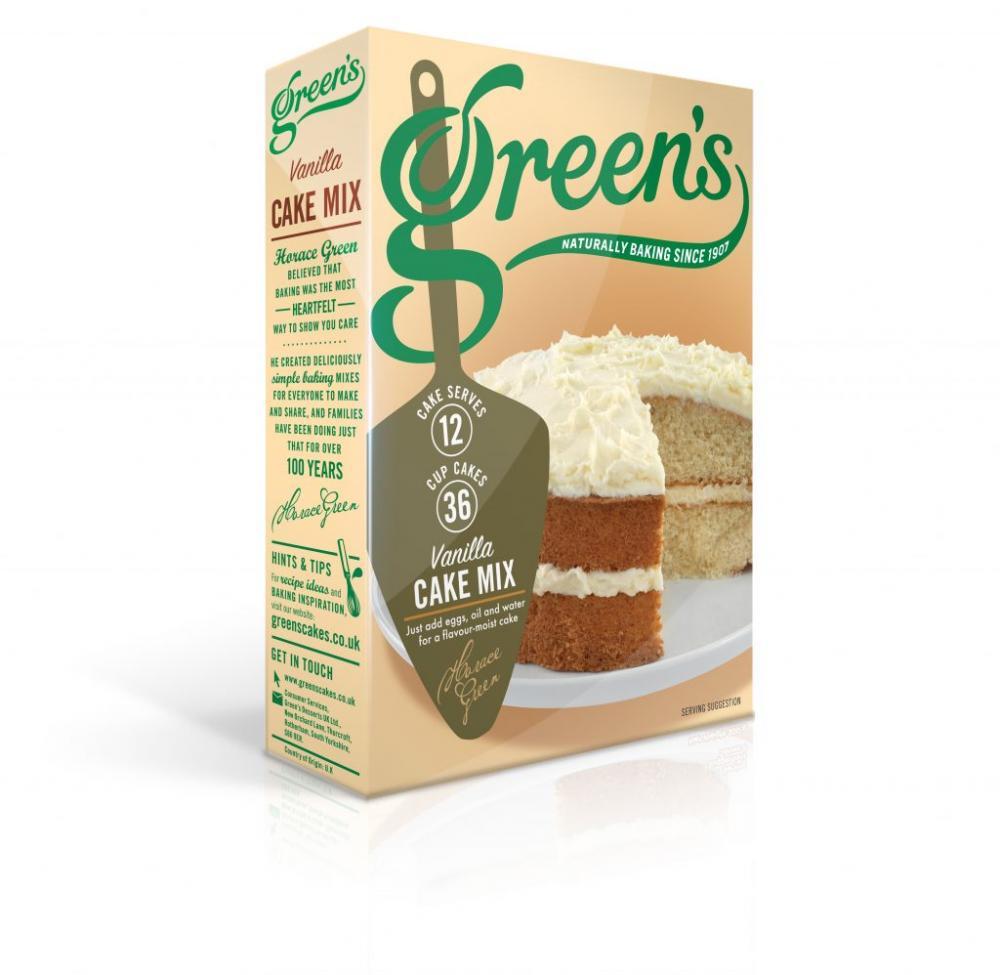 Greens Vanilla Cake Mix 500g