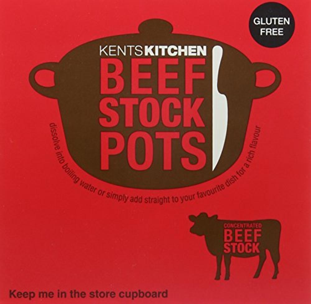 Kents Kitchen 8 Beef Stockpots 224 g
