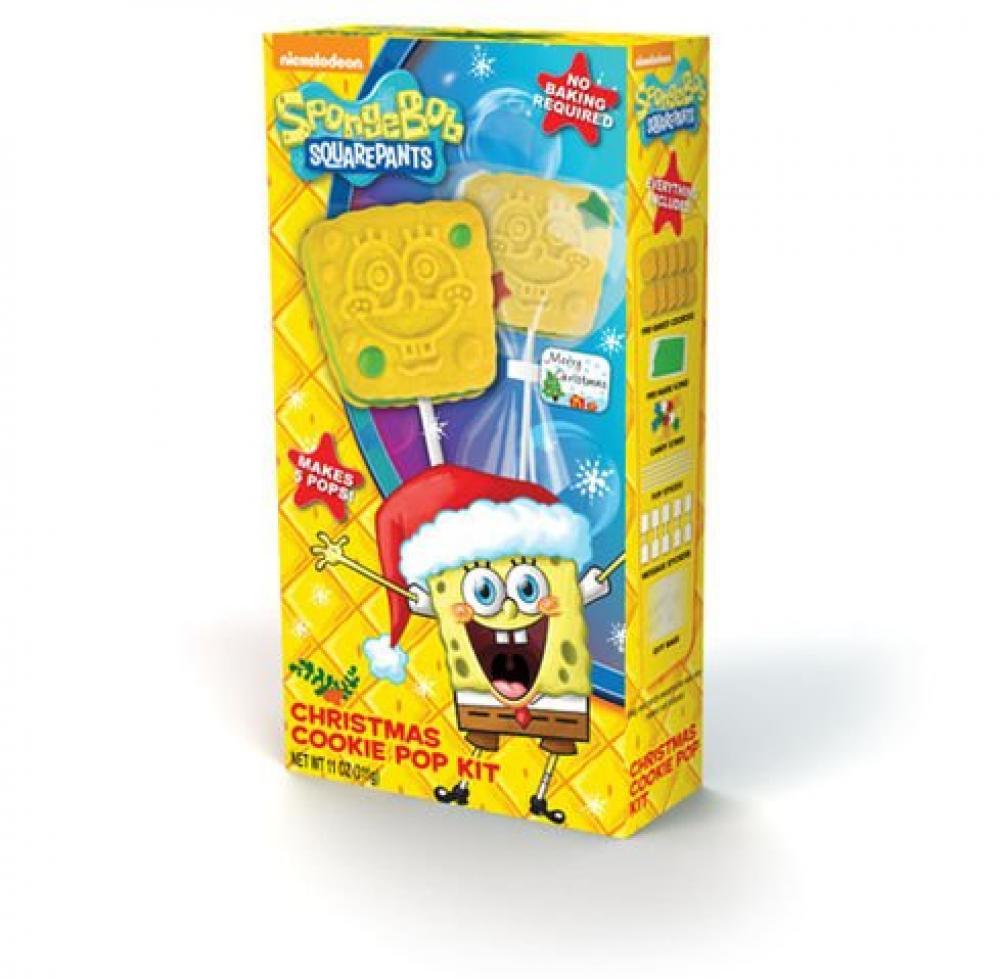 Nickelodeon Spongebob Squarepants Christmas Cookie Pop Kit 283g