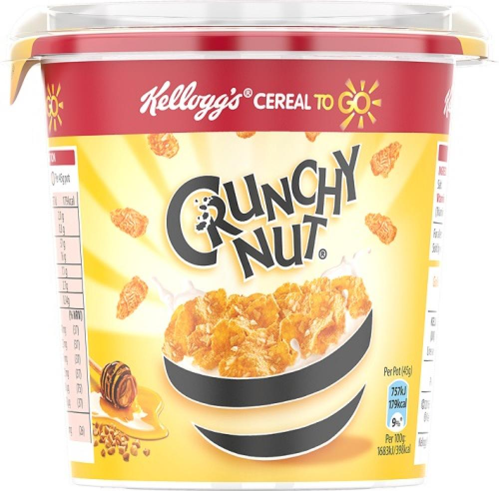 Kelloggs Crunchy Nut On The Go 45g