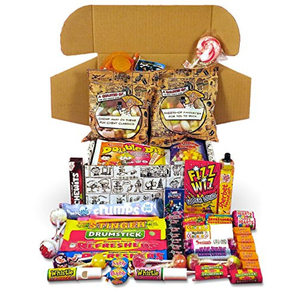 A Quarter Of Retro Sweetshop in a Box