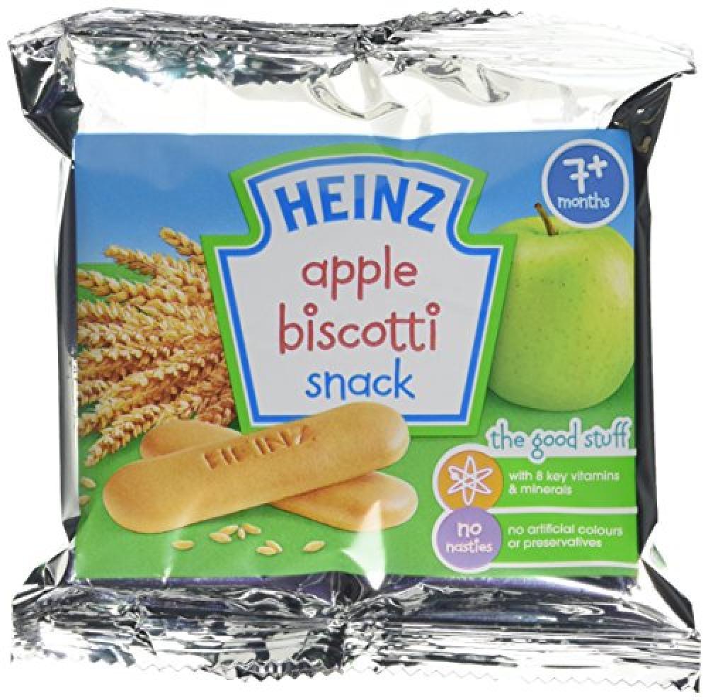 Heinz Apple Biscotti Snack 60 g