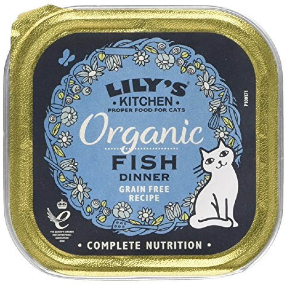 Lilys Kitchen Fish Dinner Grain Free 85g