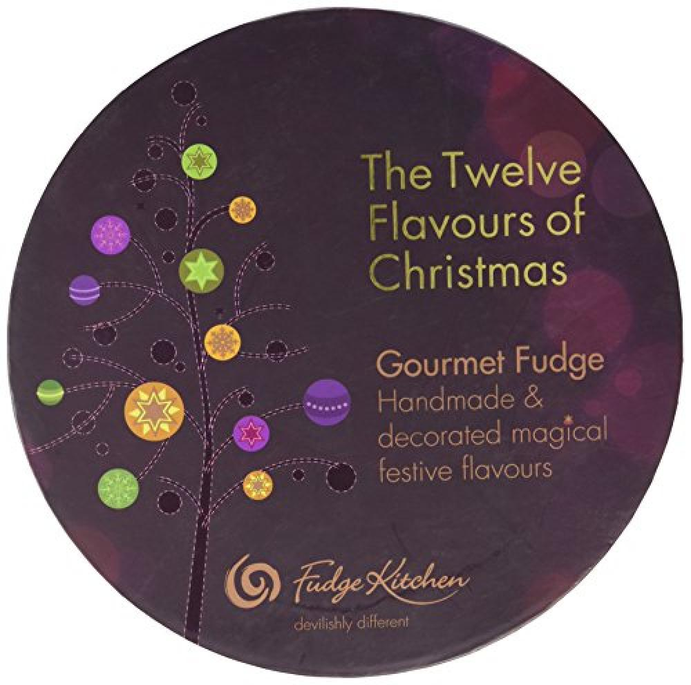 Fudge Kitchen 12 Flavours of Christmas Gourmet Fudge Selection 265g