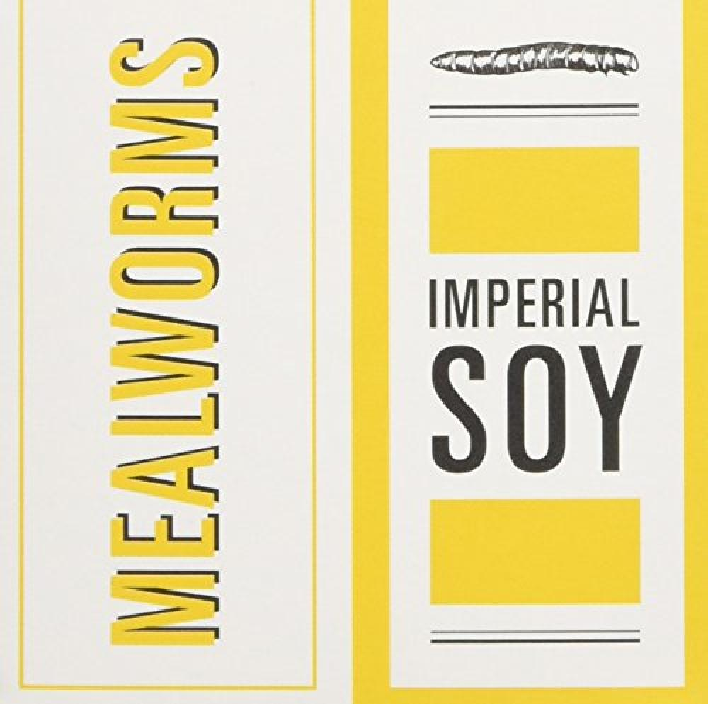 Jiminis Imperial Soy Mealworms 18g
