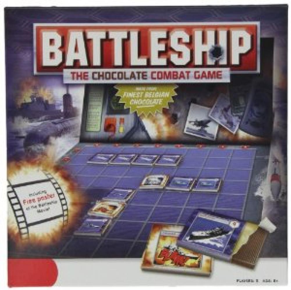 Battleship The Chocolate Combat Game