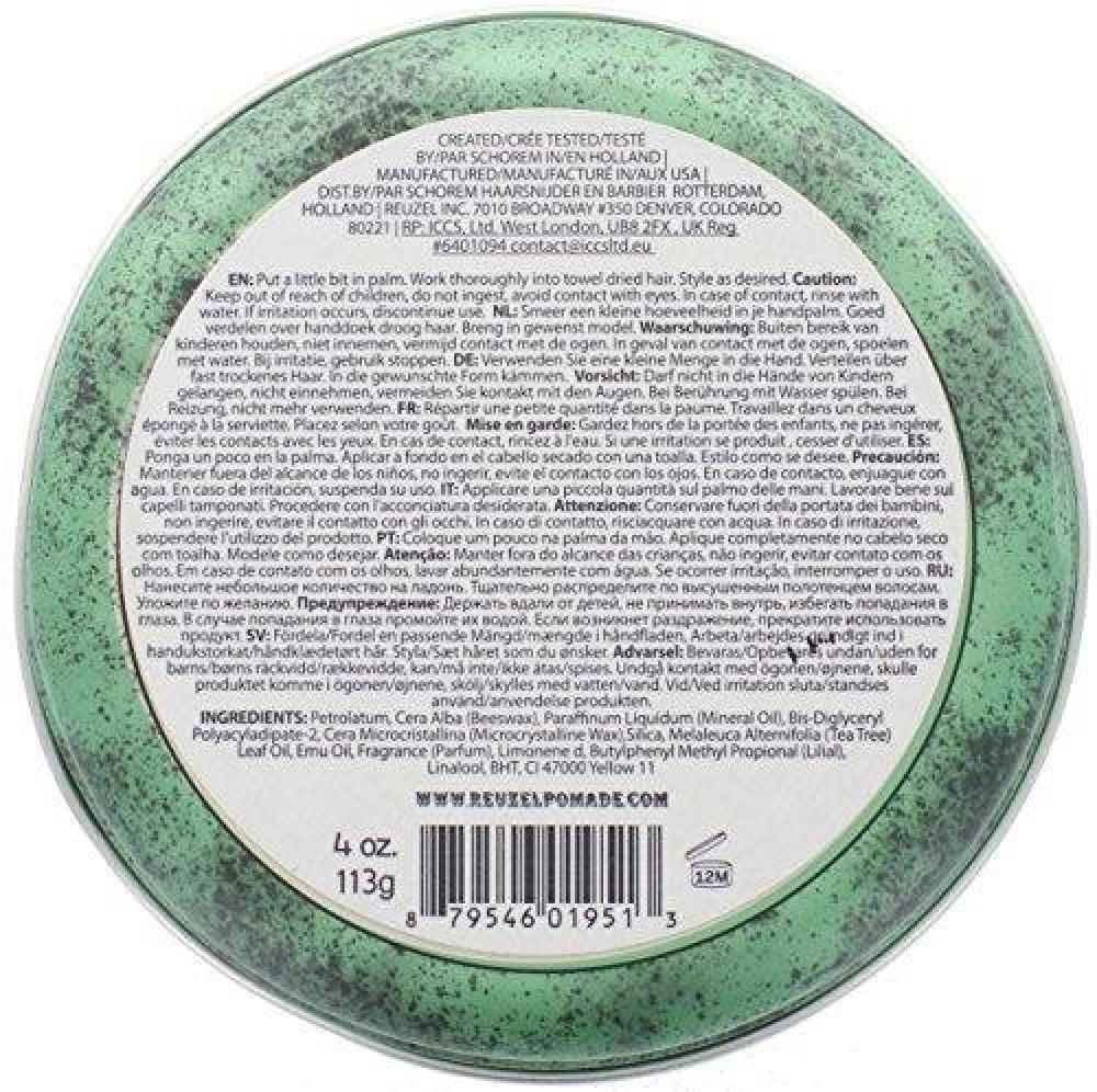 Reuzel Medium Green Grease Hold Pomade 113 g