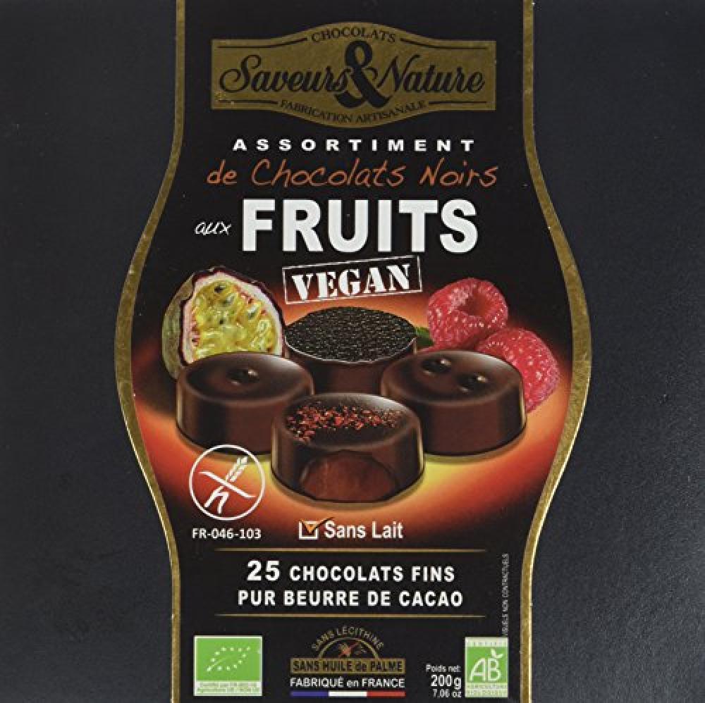 LAST CHANCE  Saveurs et Nature Organic Gluten Free Chocolate Gift Box 200g