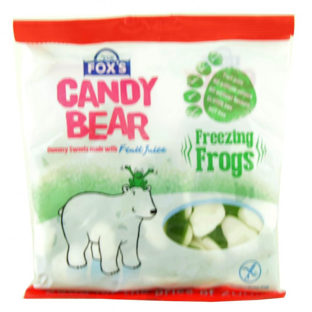 Foxs Candy Bear Freezing Frogs 250g