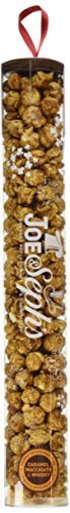 Joe and Sephs Tube of Caramel Macchiato and Whisky Popcorn 130 g