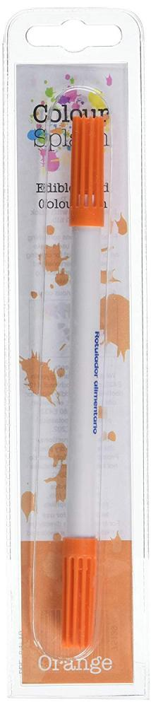 Colour Splash Edible Food Colour Pen Orange 2ml