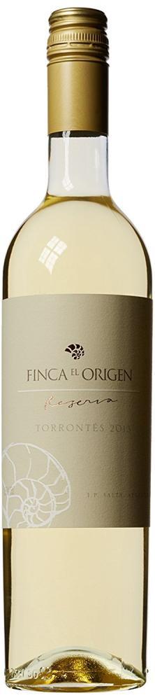 Finca el Origen Torrontes Reserva Uco Valley Mendoza Argentina Wine 75cl