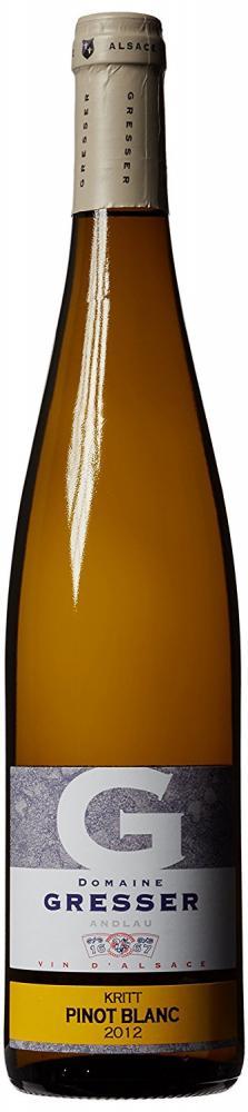 Remy Gresser Pinot Blanc Kritt 2012 Wine 75 cl