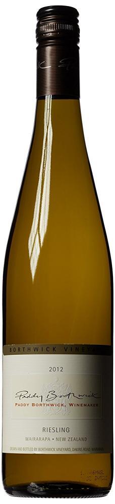 Borthwick Estate Paddy Borthwick Riesling 2013 Wine 75 cl