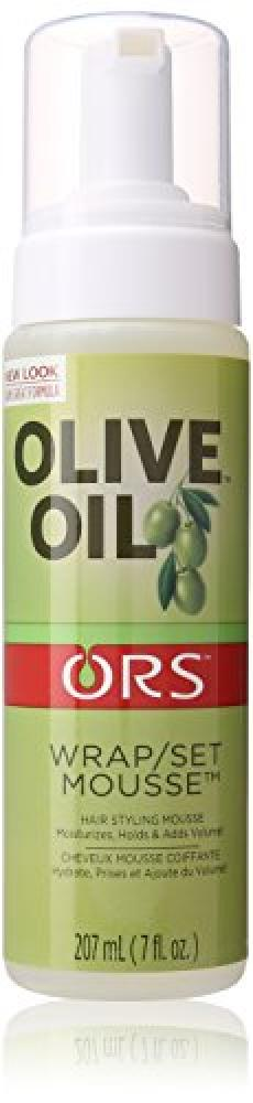 ORS olive Oil Wrap Set Mousse 207ml