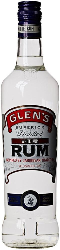 Glens White Rum 70 cl