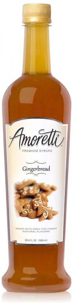 Amoretti Premium Gingerbread Syrup 750ml