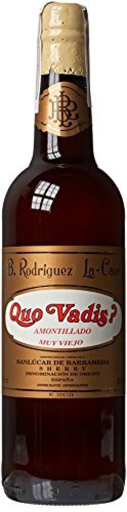 CRUWINE Delgado Zuleta Quo Vadis Amontillado Non Vintage Red Wine 75cl
