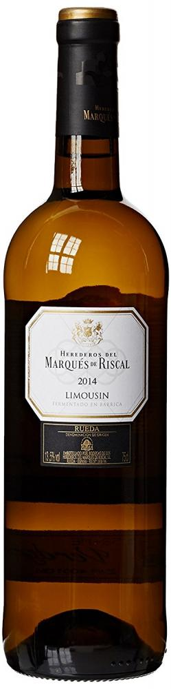 Marques de Riscal Limousin Reserva White Wine 75cl