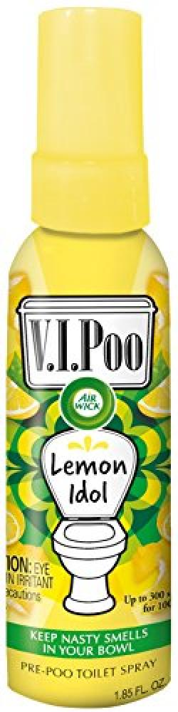 Air Wick VIPoo 55 ml Lemon Idol Spray