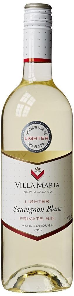 Villa Maria Private Bin Lighter Marlborough Sauvignon Blanc 2016 75 cl