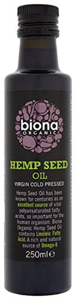 Biona Organic Hemp Seed Oil 250 ml