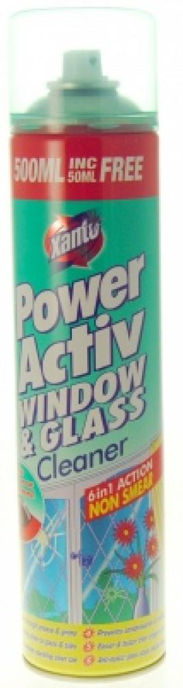 Xanto Power Activ Window and Glass Cleaner 570ml