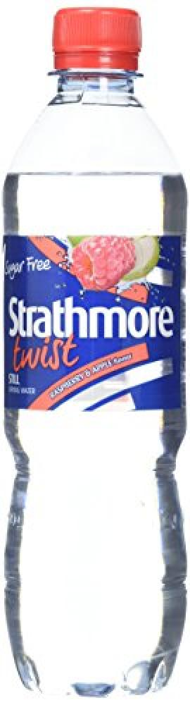 Strathmore Sugar Free Twist Still Raspberry And Apple Water 500ml