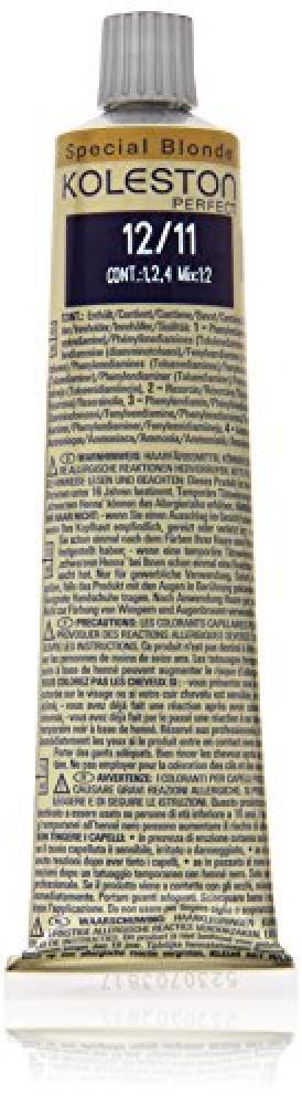 Wella Koleston Hair Dye 60 ml, 12/11 Special Blond asch-intensiv
