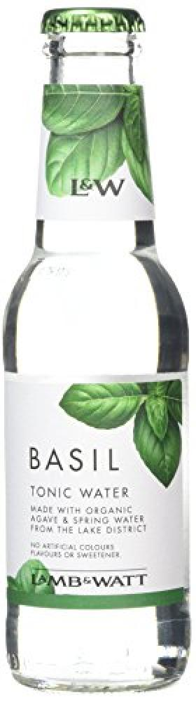 Lamb and Watt Basil Tonic Water Bottle 200 ml