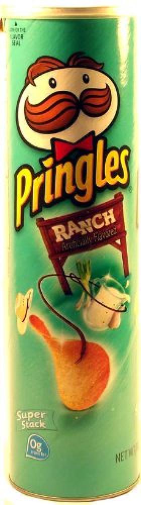 Pringles Ranch Potato Crisps 158g
