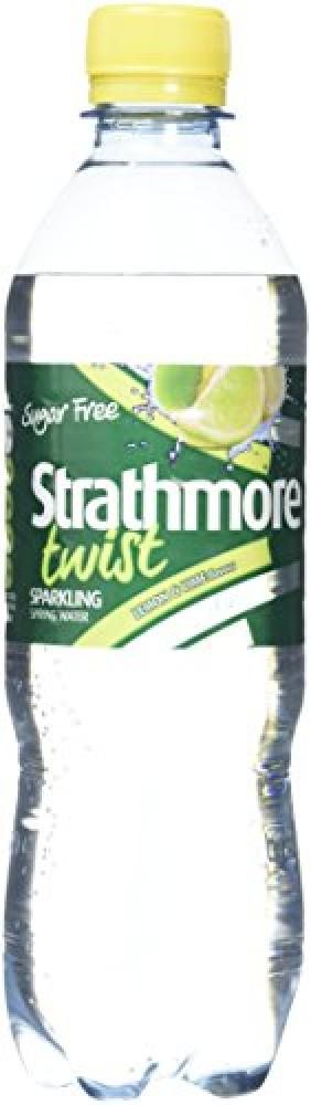 Strathmore Twist Sparkling Lemon and Lime Spring Water 500 ml