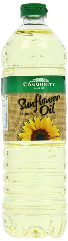 Community Sunflower Oil Refined 1 Litre