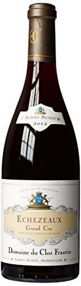 CRUWINE Albert Bichot Clos Frantin Echezeaux Grand Cru 2012 Red Wine 75cl