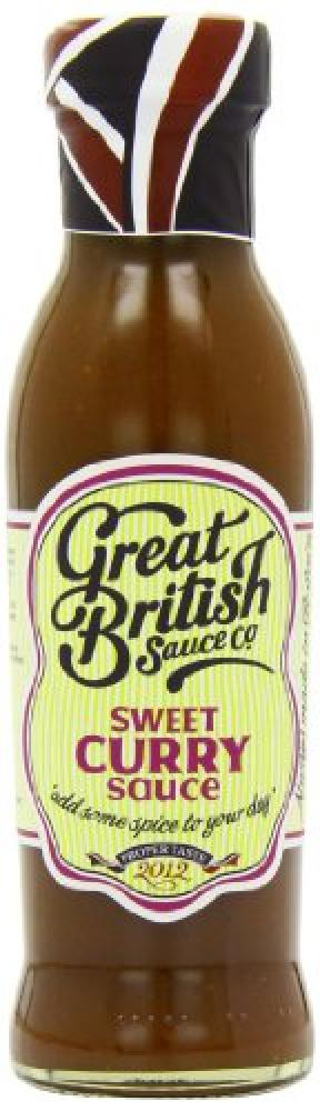 Great British Sauce Co Sweet Curry Sauce 335g